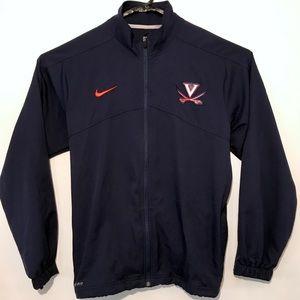 Nike Dri-Fit Virginia Cavaliers Full Zip Jacket M